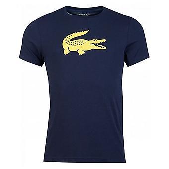 Lacoste Sport Crew Neck Croc Logo T-Shirt