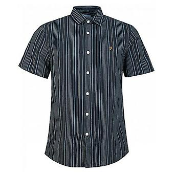 Camisa Farah Galena de rayas Seersucker