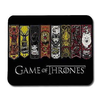 Game of Thrones House Banners Mouse Pad