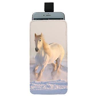 svart hest universell mobil bag