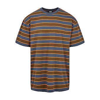 Urban Classics Men's T-Shirt Yarn Dyed Oversized Board Stripe