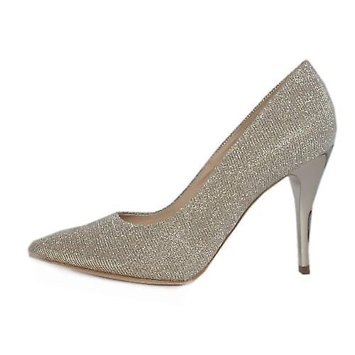 Peter Kaiser Atena Stiletto Court Shoe In Sand Shimmer jGo0T