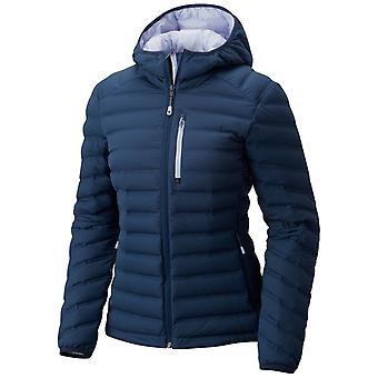 Mountain Hardwear Womens StretchDown Hooded Jacket - UK 16 - Zink