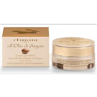 L'Erbolario Facial Cream of Argan Oil 50 ml