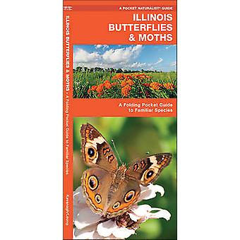 Illinois Butterflies & Moths - A Folding Pocket Guide to Familiar