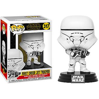 SW Første orden Jet Trooper Episode IX Rise af Skywalker Pop!