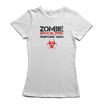 Zombie Apocalypse Response Team Biohazard grafisk Women's T-shirt
