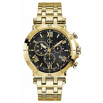 Gc Guess Collection Y44006g2mf Insider Men's Watch 44 Mm