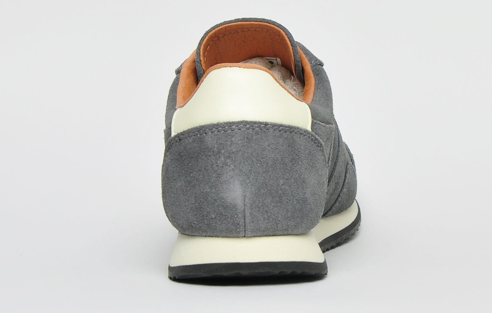 Gola Classics Track Suede 317 Made In England Ltd Edition Charcoal Grey / Stone / Tan