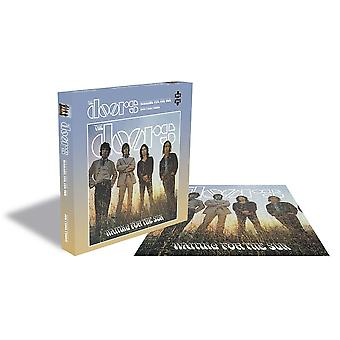 Rock saws - waiting for the sun - the doors - 500 piece jigsaw puzzle