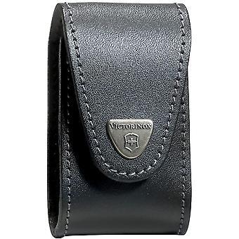 ビクトリノックス SwissChamp XLT ベルト革ポーチ ・ ブラック