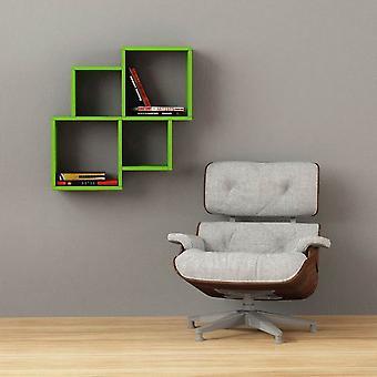 Oyo Kolor Zielona półka w melaminie 100x22x72 cm