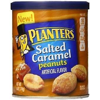 Plantasjeeiere saltet Carmel peanøtter 6 oz
