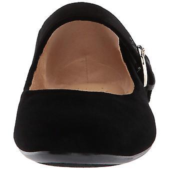 Naturalizer Femmes Erica Velvet Fermé Toe Ankle Strap Ballet Flats