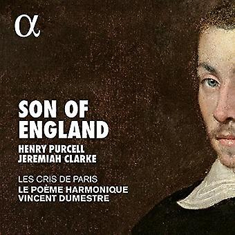 Dumestre, Vincent / Le Poeme Harmonique - Son of England: Music by Jeremiah Clarke & Purcell [CD] USA import