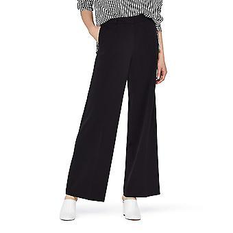 Vinden. Standaard Women's Wide Leg Pants, Black XXL (US 16)