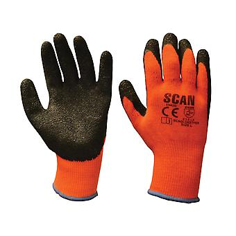 Scan Thermal Latex Coated Glove Size 9 SCAGLOKSTHER