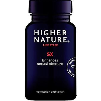 Higher Nature Sx Vegetable Capsules 180 (SX0180)
