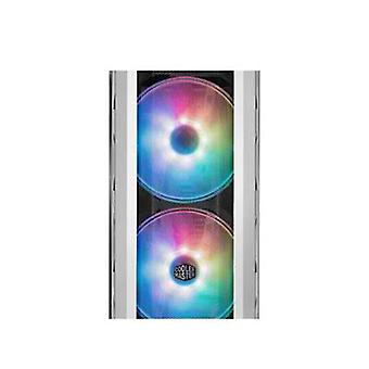 Cooler Master Mastercase H500P Mesh White Tempered Glass Mesh Design