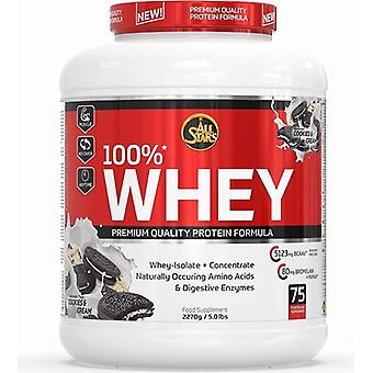 All Stars 100% biscuits and whey protein cream 2270 gr
