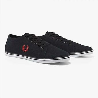 Fred Perry Kingston Twill Trainers B6259-236
