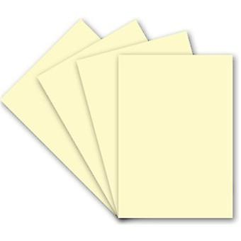 Craft UK Premium Collection A4 Ivory Linen Paper Pack