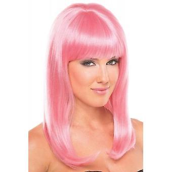 Hollywood Wig - Pale Pink