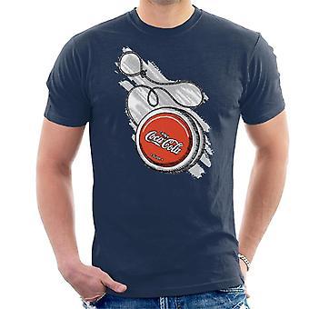 Coca Cola retro yoyo-T-shirt til mænd