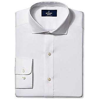 BUTTONED DOWN Men's Classic Fit Cutaway-Collar Non-Iron Dress Shirt (Pocket),...