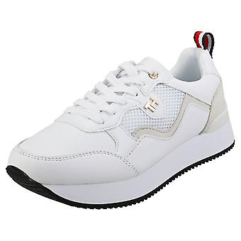 Tommy Hilfiger Dress City Sneaker Womens Fashion Trainers in White