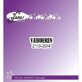 Door Lene Clearstamp Vædderen (Deense teksten) (BLS1044)