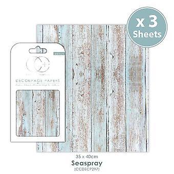 Craft Consortium Seaspray Decoupage Papers