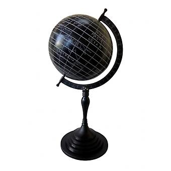 Deco4yourhome Globe Black/White XXL 26x26x165