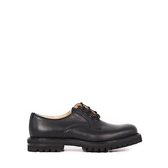 Church's Eec2949af0f0cy2 Men's Black Leather Lace-up Shoes