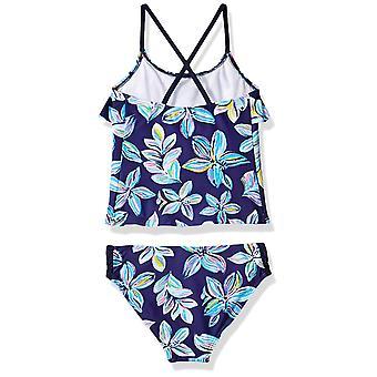 Kanu Surf Big Girls' Charlotte Flounce Tankini Beach Sport 2-Piece Swimsuit, ...