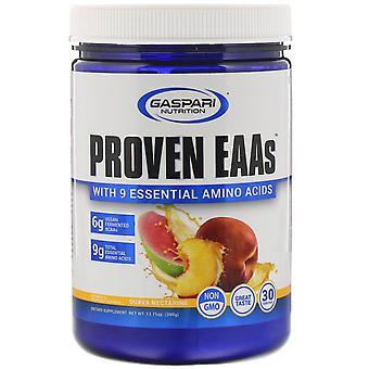 Gaspari Nutrition, Proven EAAs with 9 Essential Amino Acids, Guava Nectarine, 13