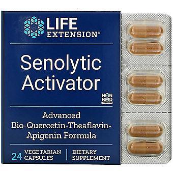 Prolongation de la durée de vie utile, Activateur sénolytique, 24 capsules végétariennes