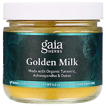 Gaia Herbs, Lait d'or, 4,3 oz (123 g)
