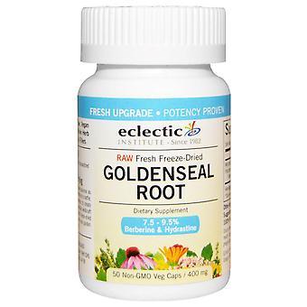 Eclectic Institute, Goldenseal Root, 400 mg, 50 Veg Caps