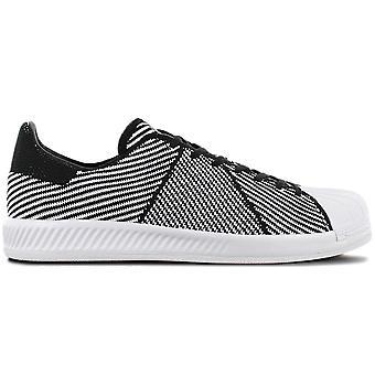 adidas Originals Superstar Bounce PK - Primeknit - Shoes White-Black S82243 Sneakers Sports Shoes