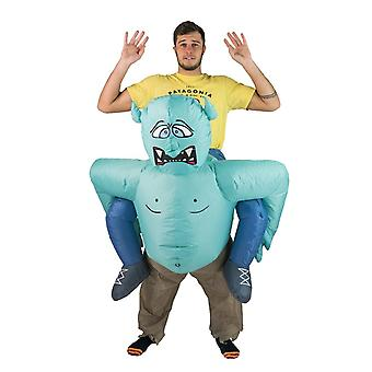 Inflatable Troll Halloween Costume Trick Or Treat One Size Fits All Adults