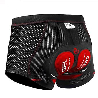 Cycling Shorts Underwear - Pro 5d Gel Pad - Shockproof Cycling Underpants -