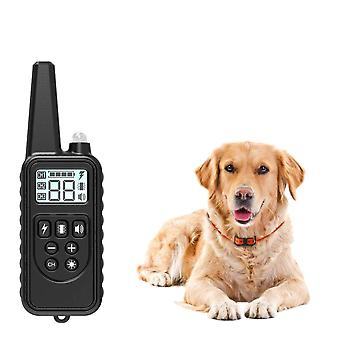 Remote Control, Waterproof And Rechargeable Lcd Display E-collar For Pets