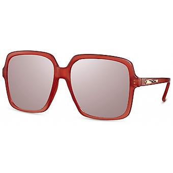 نظارات شمسية المرأة القط مستطيلة. 3 أحمر / وردي