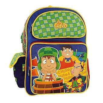 El Chavo Animado Backpack Large School Kids Mexican Animated Cartoon