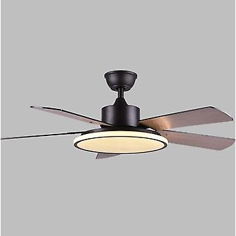 56 Inch Led Ceiling Fan With Light - Modern Dinning Room, Bedroom, Living Room