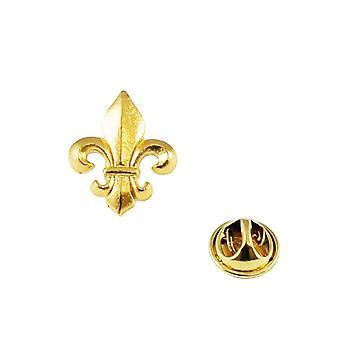 Ties Planet Golden Fleur De Lys Risvolto Pin Badge