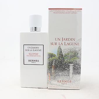 Hermès Un Jardin Sur La Lagune Lotion hydratante pour le corps 6.5oz Nouveau avec boîte