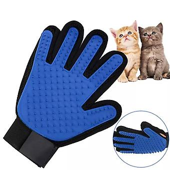 Silikon Pet Dog Hårpennka Kam Handske För Pet Rengöring Massage Grooming Supply Glove