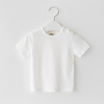 Summer Short Sleeve Cotton - Linen Shirt